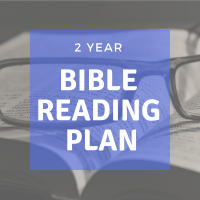2 Year Bible Reading Plan